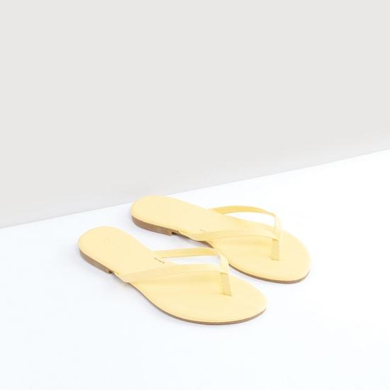Solid Flip Flops