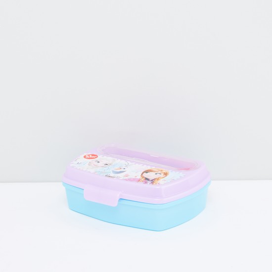 Frozen Printed Lunch Box with Cutlery