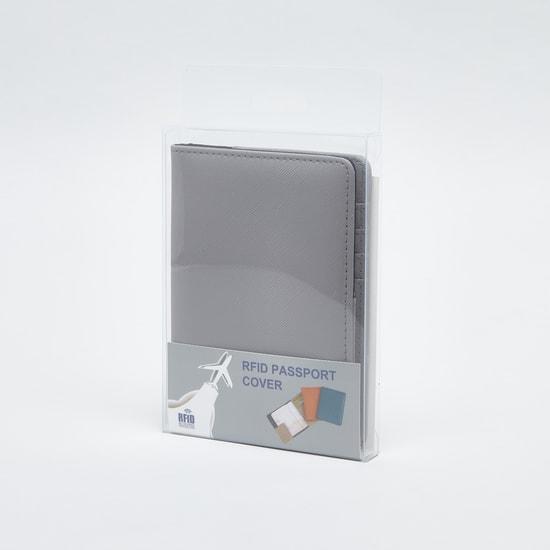 حافظة جواز سفر بارز الملمس