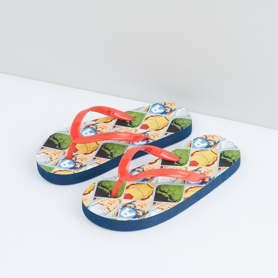 Avengers Printed Flip Flops