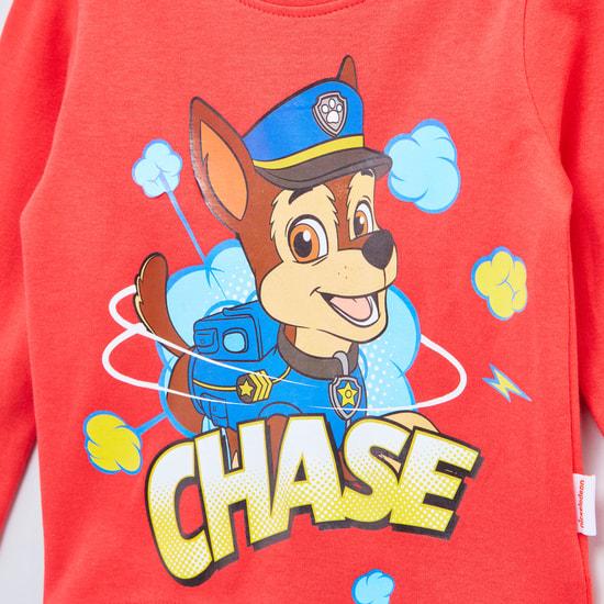 Paw Patrol Printed Long Sleeves T-shirt with Printed Jog Pants