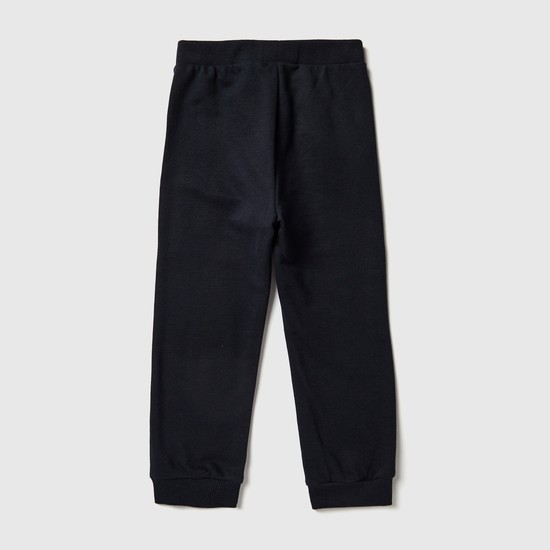 Full Length Plain Jog Pants with Elasticised Waistband and Pockets