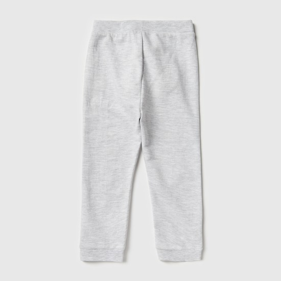 Textured Jog Pants with Slip Pockets and Elasticated Waistband