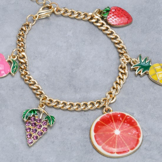 Charm Bracelet with Lobster Clasp