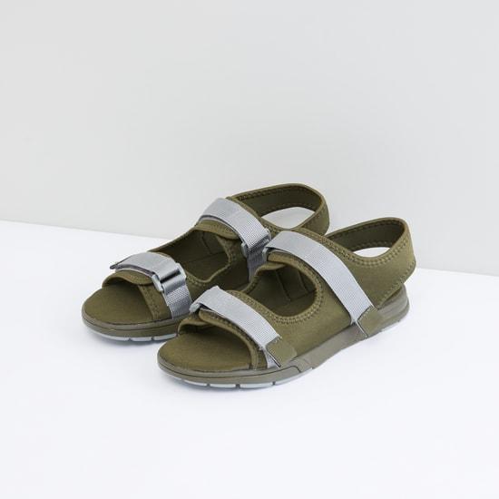 Hook and Loop Closure Sandals