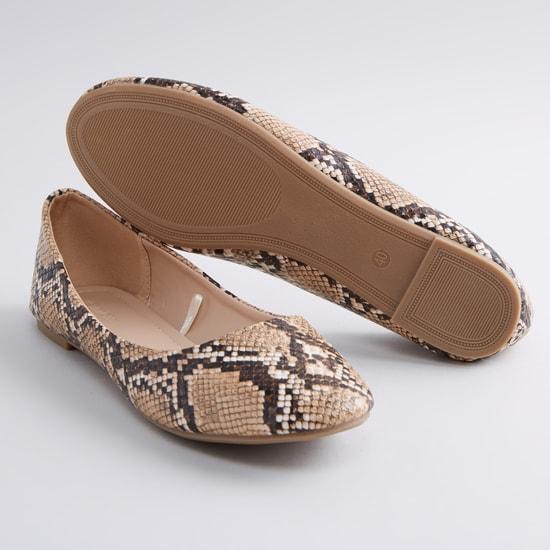 Animal Printed Ballerina Shoes