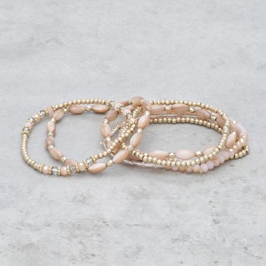 Beaded Bracelet - Set of 7