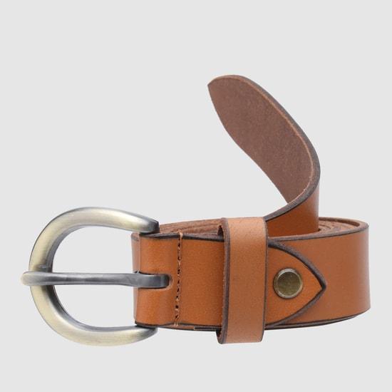 Pin Buckle Closure Belt