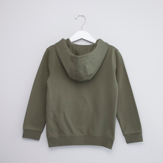 Hooded Sweatshirt with Long Sleeves