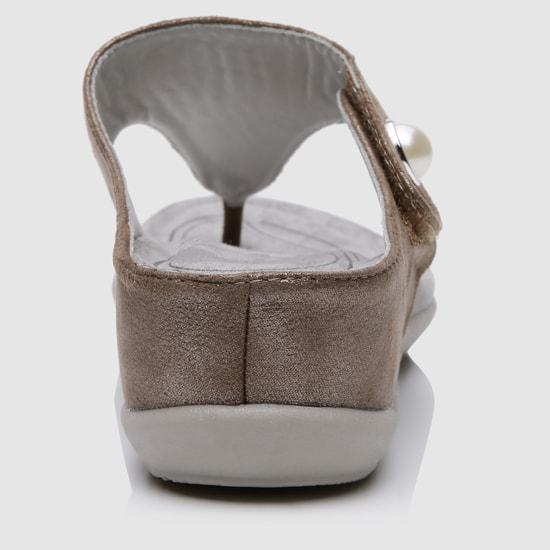 Embellished Slip-On Sandals