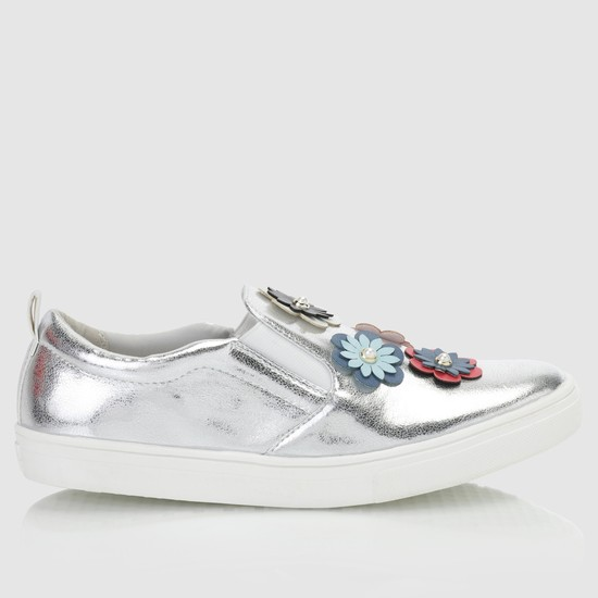 Embellished Slip-On Shoes