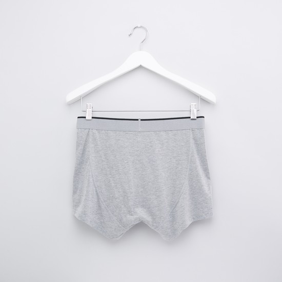 Assorted Boxer Briefs with Elasticised Waistband - Set of 2