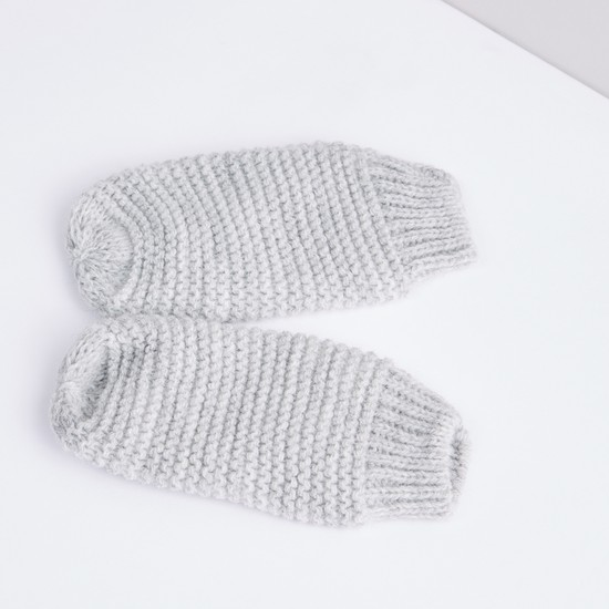 Assorted Beanie Cap with Mittens - Set of 2