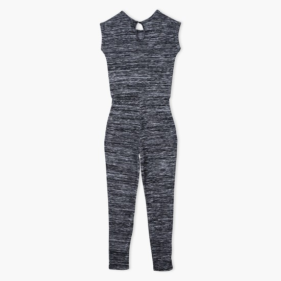 Printed Knit Jumpsuit