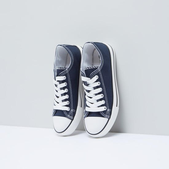 Lace-Up Canvas Shoes