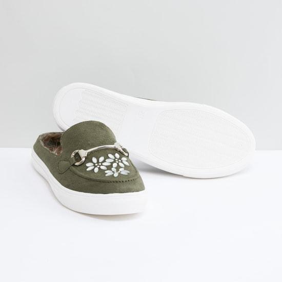 Embellished Slip-On Shoes