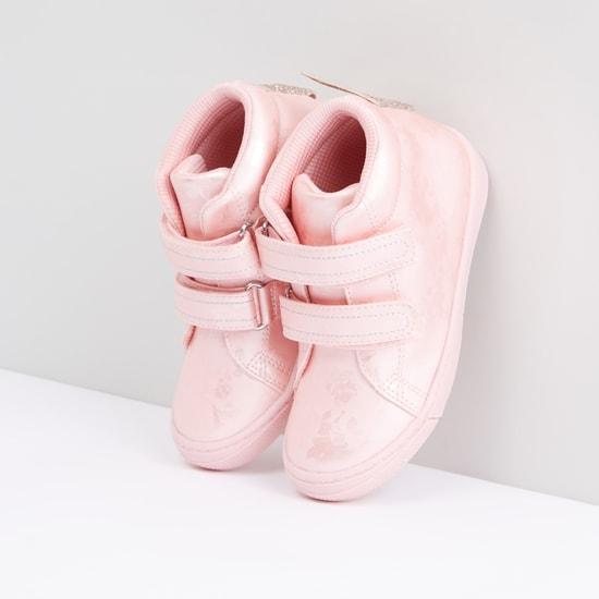حذاء مزخرف بشريط إغلاق