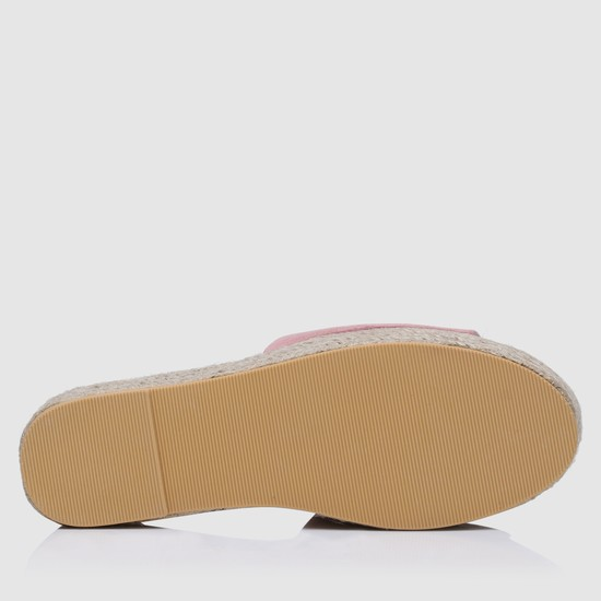 Textured Slip-On Espadrille Slides