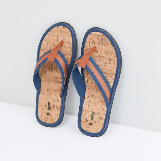 Denim Strap Flip Flops