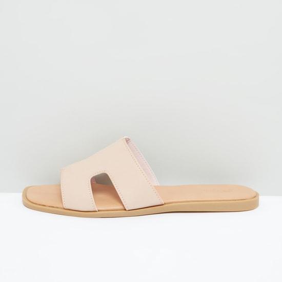Cutout Detail Sandals