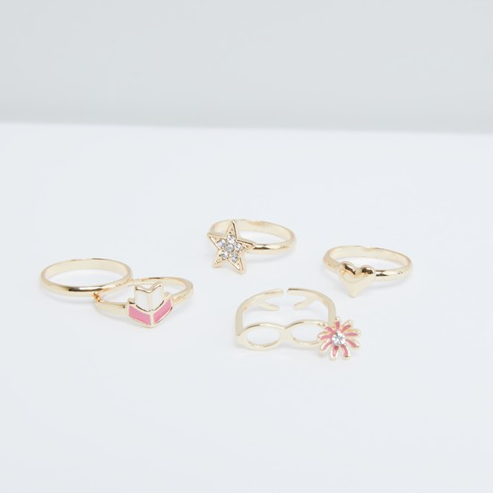 Assorted Finger Ring - Set of 5