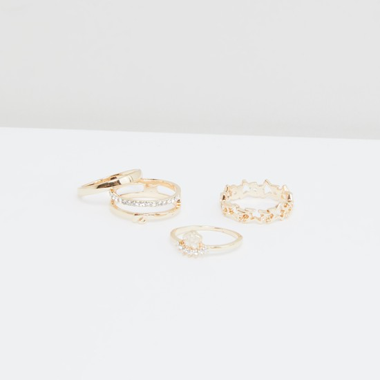 Assorted Finger Ring - Set of 4