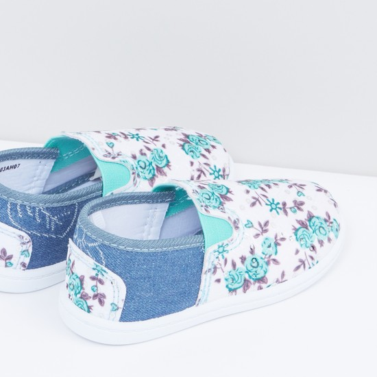 Floral Printed Shoes
