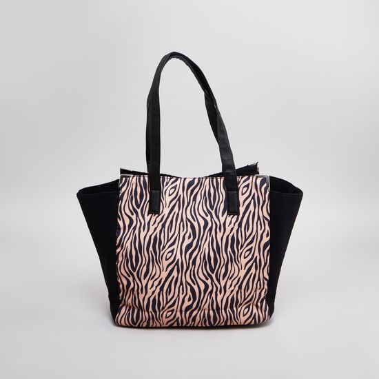 Printed Tote Bag with Twin Handles