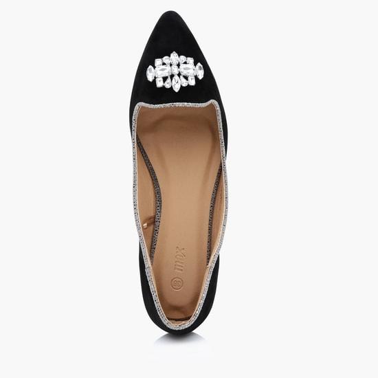 Embellished Ballerina Shoes