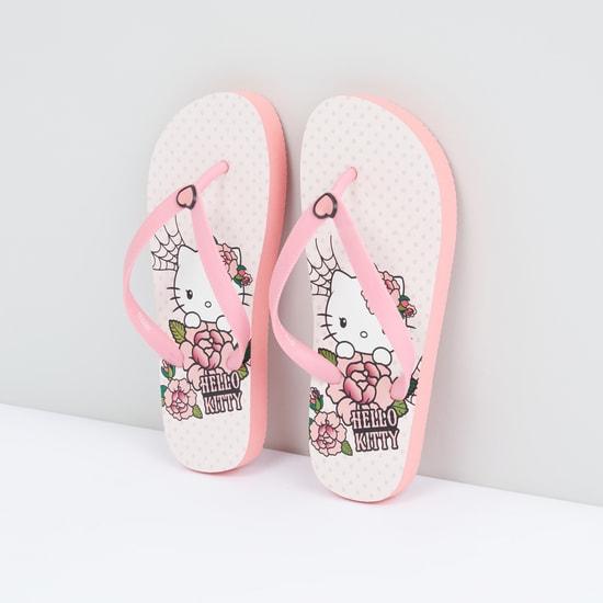 Hello Kitty Printed Flip Flops