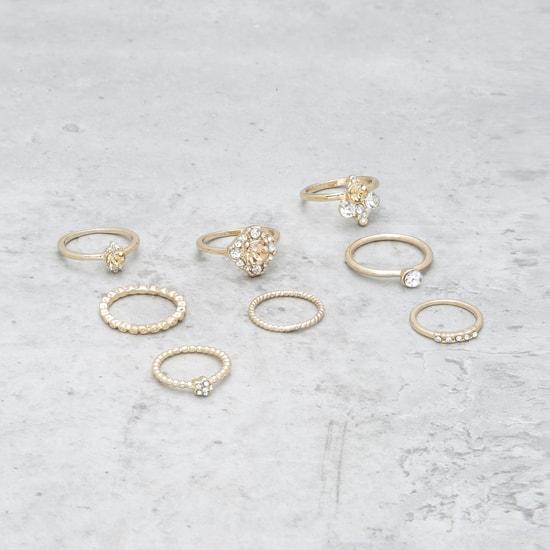 Assorted Finger Ring - Set of 8