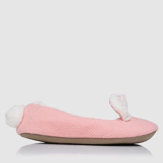 Plush Slip-On Bedroom Shoes
