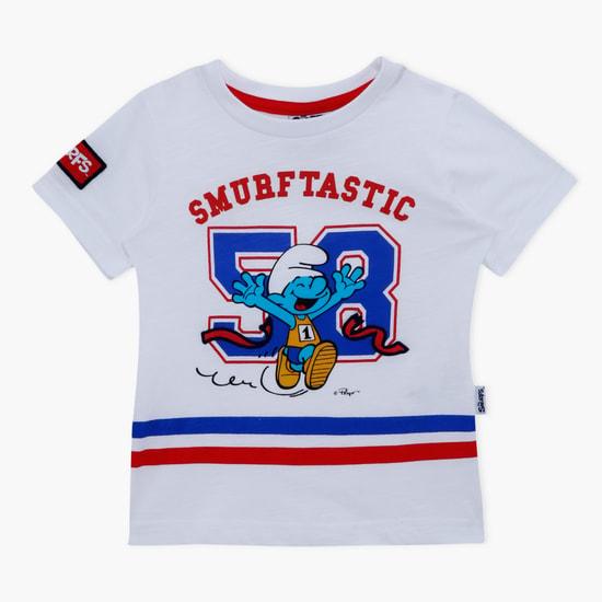 Smurfs Printed Short Sleeves T-Shirt
