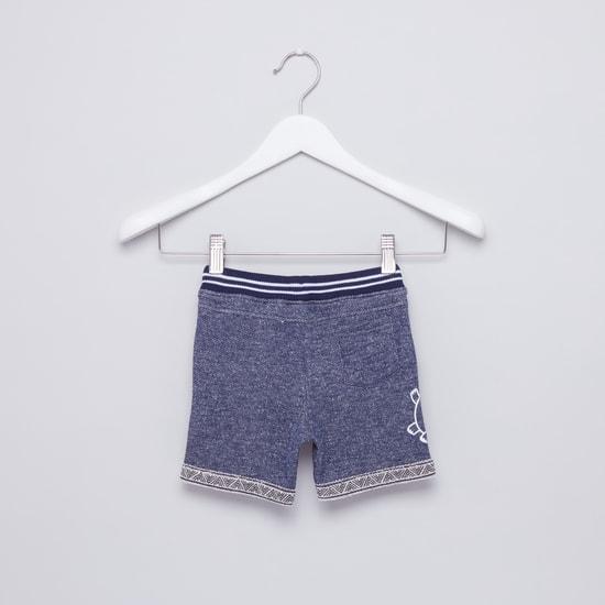 Printed Pocket Detail Shorts