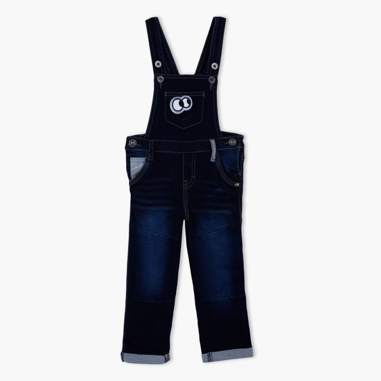 Full Length Dungaree with Pockets on the Front