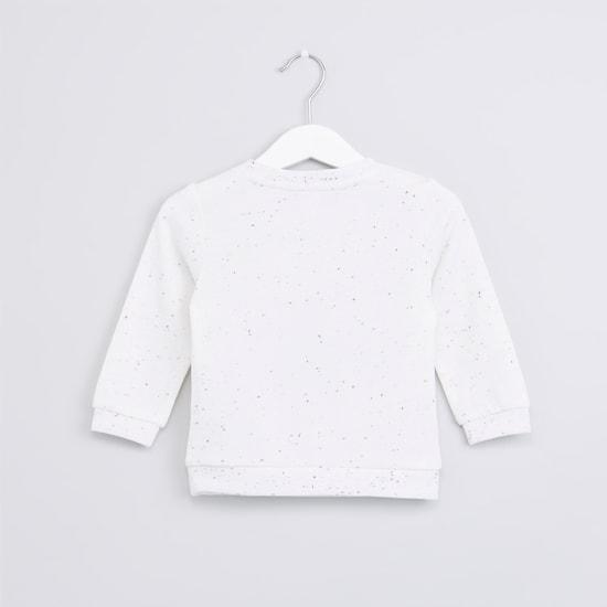 Printed Long Sleeves Sweatshirt
