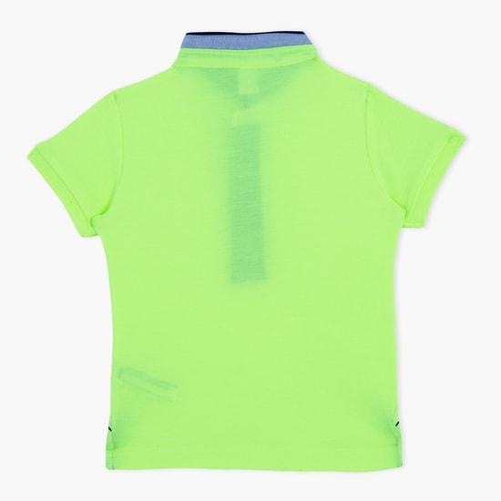 Henley Neck Short Sleeves T-Shirt