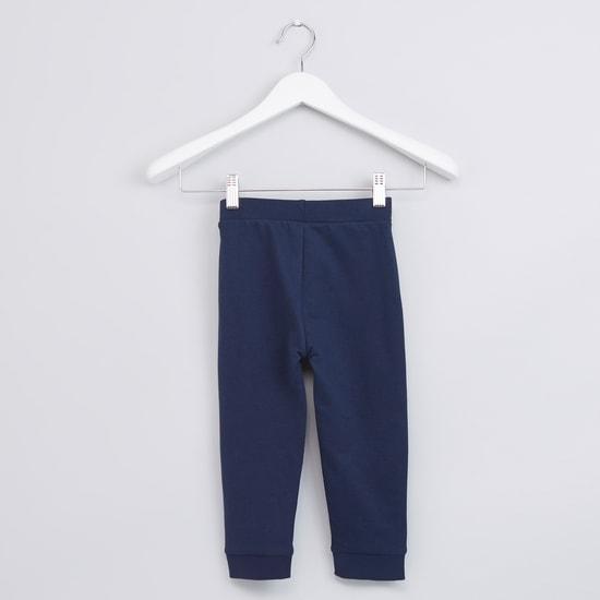 Full Length Jog Pants with Pocket Detail and Drawstring