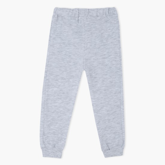 Melange Knitted Jog Pants