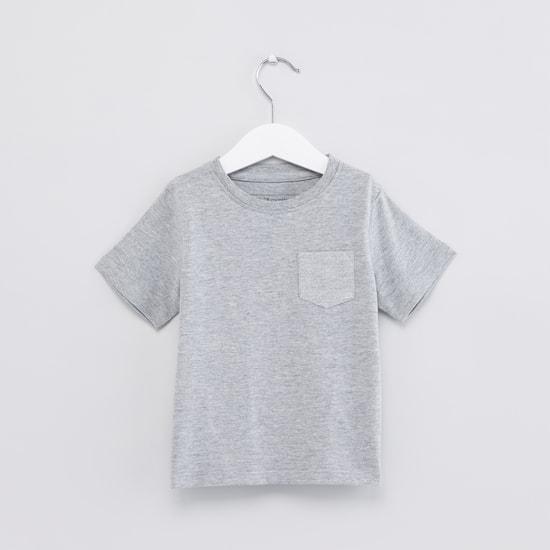 Pocket Detail Short Sleeves T-Shirt