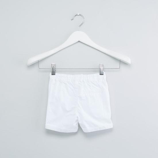 Pocket Detail Shorts with Belt Loops