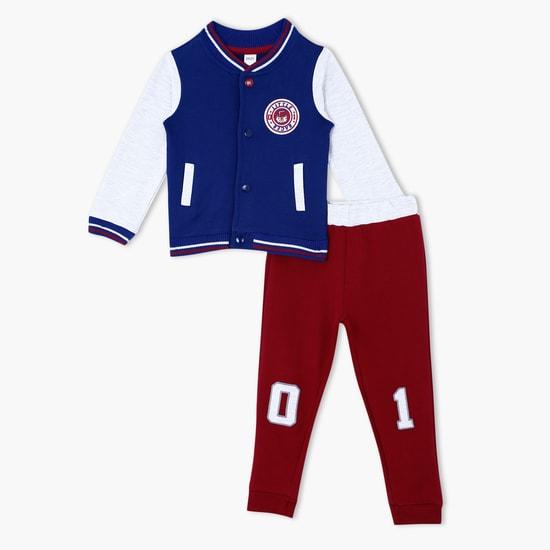 Long Sleeves Jacket and Jog Pants Set