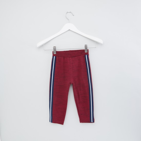Full Length Track Pants with Tape Detail