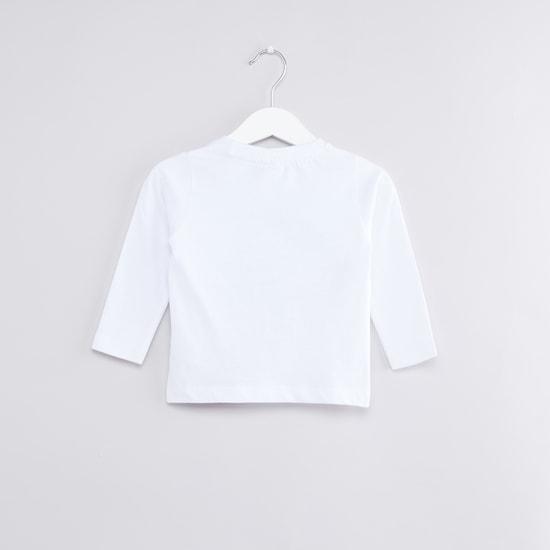 Mickey Mouse Printed Long Sleeves T-Shirt