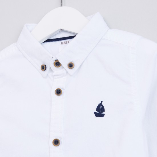 Long Sleeves Complete Placket Shirt