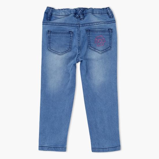 Faded Full Length Jeans