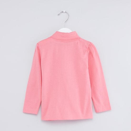 Turtleneck Long Sleeves T-Shirt