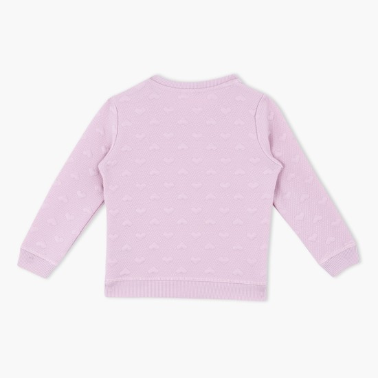 Long Sleeves Round Neck Top