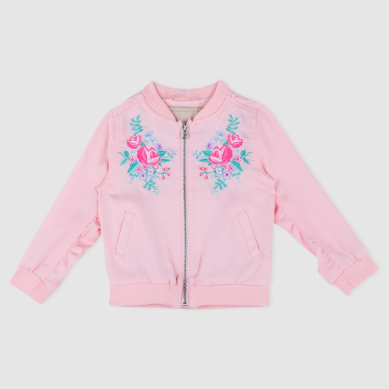 Embroidered Long Sleeves Jacket