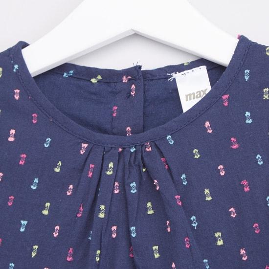 Printed Sleeveless Tunic with Leggings